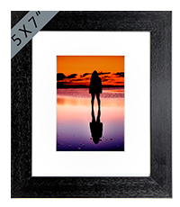 Beach Framed Print AS_25_5x7