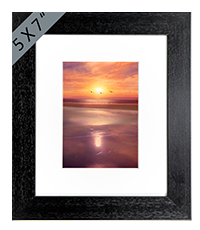 Beach Framed Print AS_33_5x7