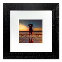 Beach Framed Print AS_40_5x5