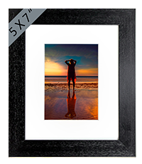 Beach Framed Print AS_40_5x7