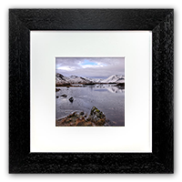Black Mount Framed Print FMC_37_5x5