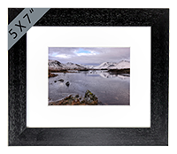 Black Mount Framed Print FMC_37_5x7