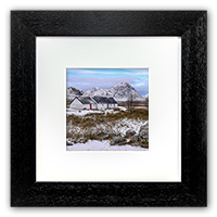 Black Rock Cottage Glencoe Framed Print FMC_38_5x5