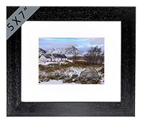 Black Rock Cottage Glencoe Framed Print FMC_38_5x7