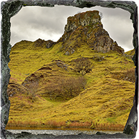 Fairy Glen Isle Of Skye Medium Square Slate FMC_02_MSL