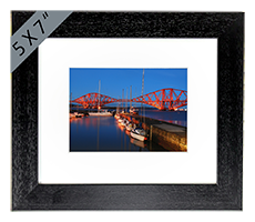 Forth Rail Bridge Framed Print FMC_01_5x7