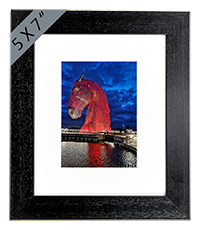 Kelpies Framed Print FMC_18_5x7