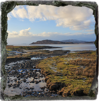 Loch na Keal, Isle Of Mull Medium Square Slate ZB_49_MSL