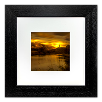 Wallace Monument Framed Print AS_24_5x5