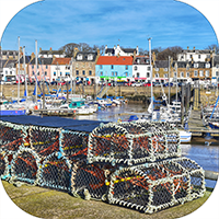 Anstruther Fife Coaster FMC_49_SC