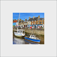 Anstruther Mounted Print FMC_45_MM