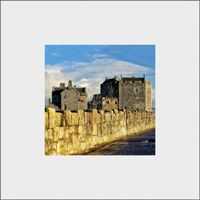 Blackness Castle Mounted Print FMC_17_MM