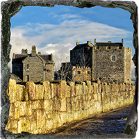 Blackness Castle Slate Coaster FMC_17_SSC