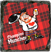 Champion Muncher. Medium Square Slate JB_04_MSL