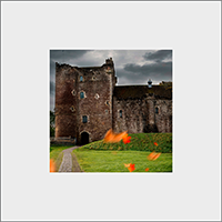 Doune Castle Mounted Print AS_27_MM