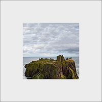 Dunnator Castle. Mounted Print  JK_11_MM