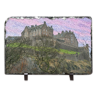 Edinburgh Castle, Slate  ZB_63_LS