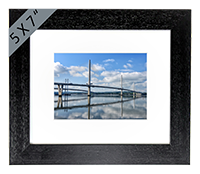 Forth Bridges, Framed Print FMC_62_5x7