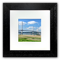 Forth Bridges, Framed Print FMC_64_5x5