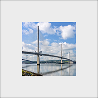 Forth Bridges, Mounted Print  FMC_59_MM