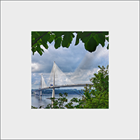 Forth Bridges, Mounted Print  FMC_60_MM