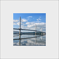 Forth Bridges, Mounted Print  FMC_62_MM