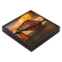 Forth Rail Bridge Framed Tile AS_52_FT