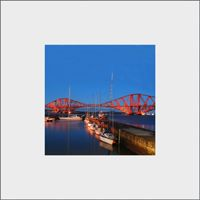 Forth Rail Bridge Mounted Print  FMC_01_MM