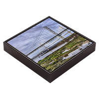 Forth Road Bridge Framed Tile FMC_48_FT