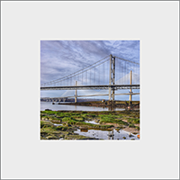 Forth Road Bridge Mounted Print FMC_48_MM