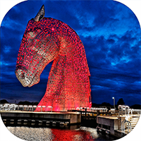 Kelpies Coaster FMC_18_SC
