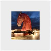 Kelpies Mounted Print FMC_11_MM
