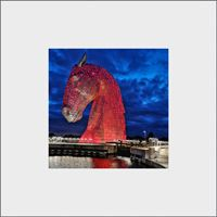 Kelpies Mounted Print FMC_18_MM