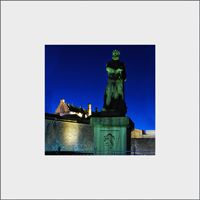 King Robert Stirling Castle Mounted Print FMC_16_MM