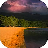 Loch Morlich Coaster AS_35_SC