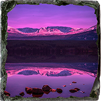 Loch Morlich Medium Square Slate AS_53_MSL