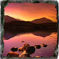 Loch Morlich Medium Square Slate AS_54_MSL