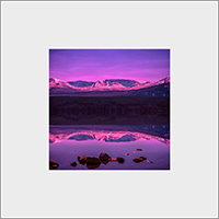 Loch Morlich Mounted Print  AS_53_MM
