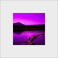 Loch Morlich Mounted Print  AS_55_MM