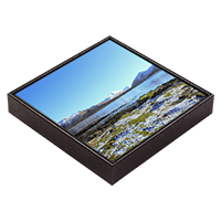Loch na Keal, Isle Of Mull Framed Tile  ZB_47_FT