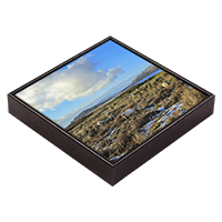 Loch na Keal, Isle Of Mull Framed Tile ZB_48_FT