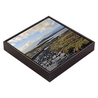 Loch na Keal, Isle Of Mull Framed Tile ZB_49_FT