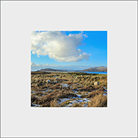 Loch na Keal Isle Of Mull Mounted Print ZB_48_MM