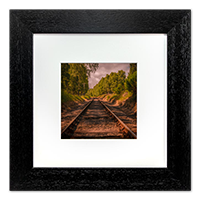 Railway Framed Print AS_42_5x5