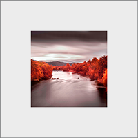 River Spey Mounted Print  AS_20_MM