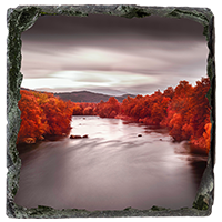 River Spey Slate Coaster AS_20_SSC