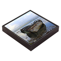 Salen Isle Of Mull Framed Tile ZB_23_FT