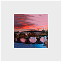 Stirling Bridge Mounted Print AS_44_MM