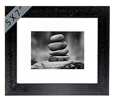 Stone Stack Framed Print AS_47_5x7