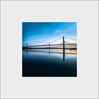 The Forth Bridges. Mounted Print  JK_10_MM
